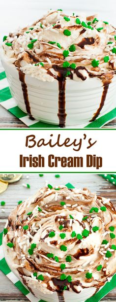 Creamy and boozy cheesecake dip recipe featuring Baileys Irish Cream. Baileys Ir… Creamy and boozy cheesecake dip recipe featuring Baileys Irish Cream. Baileys Irish Cream dip is an easy dessert for St. Patrick's Day or anytime of year. Easy Chocolate Desserts, Easy Desserts, Delicious Desserts, Asian Desserts, Chocolate Chips, Yummy Food, Baileys Recipes, Irish Recipes, Lemon Recipes