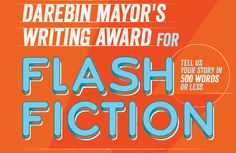 2016 Darebin Mayor's Writing Award –