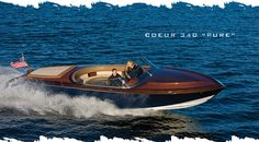 The Resort Boat Shop builds Coeur d'Alene Custom wood boats from cedar, mahogany, teak and sapele wood. Coeur d'Alene custom wooden boats are featured in Robb Report, Boat International and Yachting World and have won a number of major awards. For more information, explore: cdacustomwoodboats.com