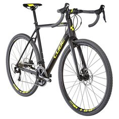 Cube Cross Race cyclocross geel/zwart