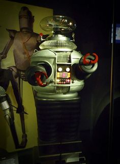 My first robot crush..... (seconded.) EMP - the Seattle Science Fiction Museum