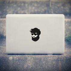 Laptop-Folien & Sticker - Fixi Friedrich The Hats MacBook Aufkleber - ein Designerstück von TheStickerCompany bei DaWanda
