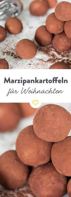 Die handgerollten Kugeln stehen bei Marzipan-Fans hoch im Kurs. Und das nicht nu… The hand-rolled balls are popular with marzipan fans. And not only in Advent. Rolled in cocoa – a poem. Food Cakes, Christmas Drinks, Christmas Baking, Christmas Recipes, Baking Recipes, Cookie Recipes, Drink Recipes, Tree Cakes, Cake Shapes