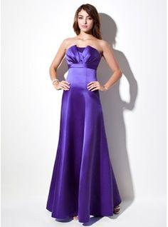 Bridesmaid+Dresses+-+$120.99+-+Empire+Scalloped+Neck+Floor-Length+Satin+Bridesmaid+Dress+With+Ruffle++http://www.dressfirst.com/Empire-Scalloped-Neck-Floor-Length-Satin-Bridesmaid-Dress-With-Ruffle-007001908-g1908