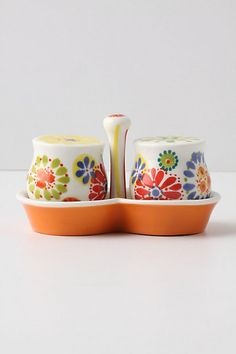 Let's start simple with some amazingly cute salt and pepper shakers <3 thank you Anthroplogie