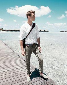 Clément Chabernaud Models Smart Summer Styles for J.Crew
