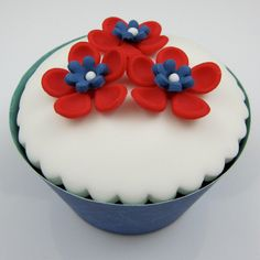 4th of july cupcake decorating ideas blossoms flowers inspired by michelle cake designs