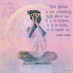 Simply ubiquitous, omnipresent, there is no where it is not...  www.liberatingdivineconsciousness.com