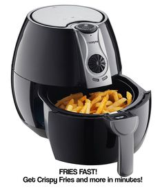 Hot air fryer is an alternative to deep frying as it is a much healthier way of cooking. Let's take a look at the best hot air fryers available. Low Fat Fryer, Best Air Fryer Review, Air Fryer Deals, Fryer Machine, Hungry Girl Recipes, Best Air Fryers, Deep Fryer, Multicooker, Air Frying