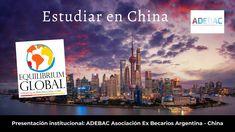 Estudiar en China. La propuesta institucional de ADEBAC China, Studying, Proposal, Porcelain