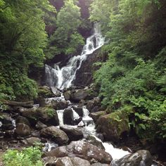 Torc Waterfall Killarney Ireland