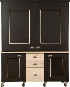 Swedish Style Kitchen in a Cupboard  For additional information & pricing, email info@milestonekitchens.co.za http://www.milestonekitchens.co.za/