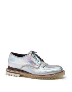 Lanvin - HOLOGRAM DERBY - Shoes.. I know I shouldn't like these but...