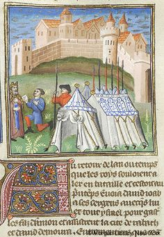 Bible Historiale, MS M.394 fol. 133r - Images from Medieval and Renaissance Manuscripts - The Morgan Library & Museum