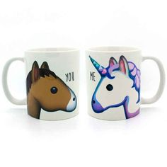 These mugs that are both actually YOU.