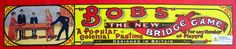 """Favourite Victorian game of """"Bob's Bridge"""" a snooker target game"""