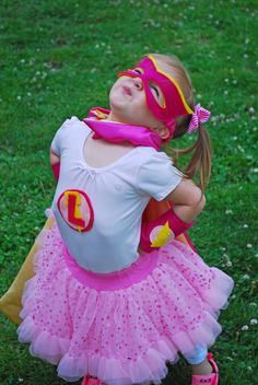 "Photo 1 of 24: girly superhero / Birthday ""Pink Superhero Party"" 