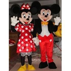 2012 Hot Mickey Minnie Cartoon Doll / costumes / clothing cartoon show