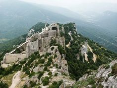 Like medieval castles? Cathars took to craggy peaks along the Aude River in the Languedoc to to avoid religious persecution and built plenty.
