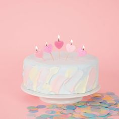 Candles And Cake Party Supplies