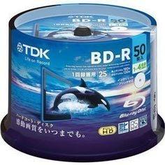 TDK Blu-ray BD-R Disk | 25GB 4x Speed Spindle 50 Pack (Japanese Import) by TDK. $63.55. TDK 25 Gb 4X speed discs in original spindle cake.  TDK leader in media products offer bluray discs compatible with most burners. Reliable original media.