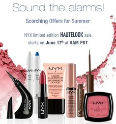 @sophia oranje Cosmetics is on HauteLook for the next three days! They have some AMAZING sets! Lips, Blushes, Eyes, Palettes + more!  www.hautelook.com/invite/SPercy561