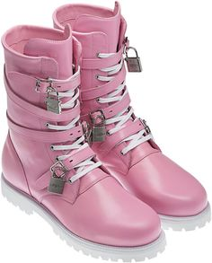 100% authentic 825bf 647a4 Jeremy Scott Adidas, Crazy Shoes, Me Too Shoes, Pink Boots, Vogue,
