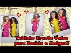 #COSTURANDO Tubinho frente unica para a Barbie - YouTube