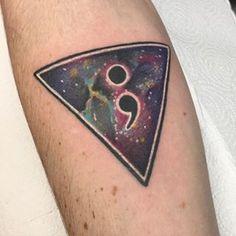 "Universe Triangle Tattoo "" ; """