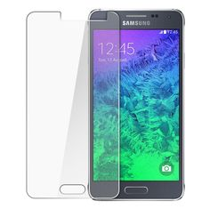 Factory Wholesale Samsung Galaxy Alpha Tempered Glass Screen Protector Film Guard With retail Packing Box Samsung Galaxy S4, Galaxy A5, Samsung Cases, Samsung A5, Sony Xperia Z3, Best Screen Protector, Tempered Glass Screen Protector, Huawei Y6 Ii, Design Transparent