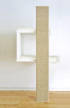 ein g nstiger designer kratzbaum kratzm bel mit sch nem design para animais pinterest. Black Bedroom Furniture Sets. Home Design Ideas