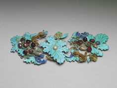 Gilt Hairpin with Design of Squirrels and Grapes, Middle Qing period