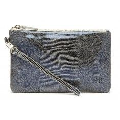 Snake Leather Mighty Purse Charge on the Go Wristlet  $109.99