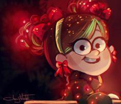 Artist: Cherry Violets. Mabel Pines
