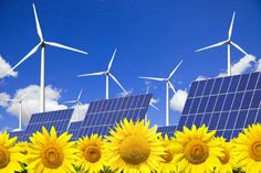La energía renovable es la energía generada a partir de los recursos naturales - como la luz solar, el viento, la lluvia, las mareas y el calor geotérmico - que son renovables (de reposición natural).