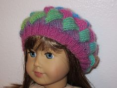 Ravelry: LisaMcClure's Entrelac Beret - free knitting instructions on how to make it