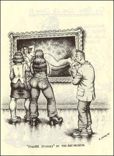 Robert Crumb  /via La Tribune du Lard ‏