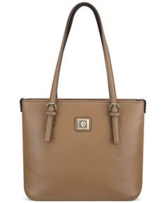 Anne Klein Perfect Small Tote - Brown bba8becd34150