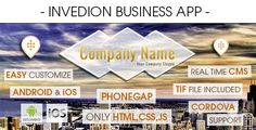 nice Business App With CMS . Business has features such as Software Version: iOS 7.0.... Software Web Design Lovers