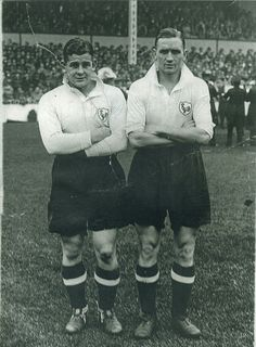 Willie Evans and Eugene O'Callaghan. 1930s