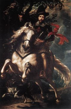 Equestrian Portrait of Giancarlo Doria. c. 1606. Oil on canvas, 265 x 188 cm. Galleria Nazional della Liguria, Genoa.