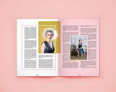 OBSERVE indie mag by Lisa Dino, via Behance