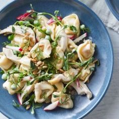Chicken & Spring Vegetable Tortellini Salad - EatingWell.com