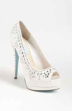 Blue by Betsey Johnson 'Vow' Pump available at #Nordstrom