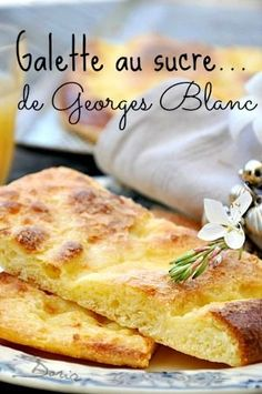 Georges Blanc has always remained faithful to this recipe that he holds from his maternal grandfathe Chefs, Cooking Time, Cooking Recipes, No Cook Desserts, Family Meals, Love Food, Sweet Recipes, Brunch, Food And Drink