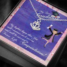 To My Graduate, Graduate Gift, Personalized Graduation gift, High Scho – Shiny Jewelry Charm High School Graduation, Graduate School, Tarnished Jewelry, Personalized Graduation Gifts, Bottom Of The Ocean, Graduation Necklace, Senior Gifts, Congratulations, University