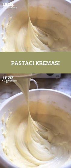 Pastry Cream - My Delicious Pastacı Kreması – Leziz Yemeklerim Pastry Cream - Pastry Recipes, Cake Recipes, Dessert Recipes, Good Food, Yummy Food, Tasty, Pasta Cake, Orange Recipes, Turkish Recipes