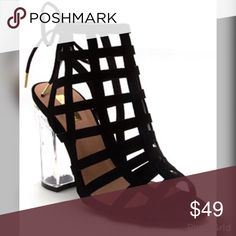 ONLY 3 LEFT!Sexy, Sassy Black Sandal TODAY ONLY SALE!!  Cannot combine with any other discount.  GET YOUR PAIR TODAY !! Shoes Heels