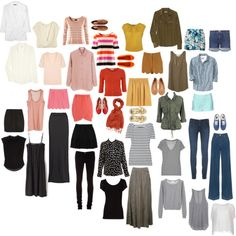 If she can get all of this in one 21in carry on size bag, I can get it in my 17in carry on!!