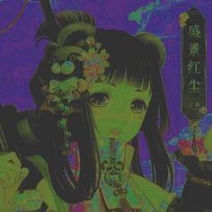 Aesthetic Images, Aesthetic Art, Aesthetic Anime, Bts Manga, Arte Grunge, Gothic Anime, Wow Art, Cybergoth, Dark Anime